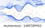 big data. white infographic...   Shutterstock .eps vector #1485789902