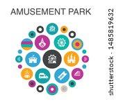 amusement park infographic...