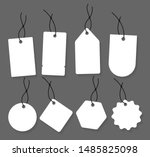 blank labels template. price... | Shutterstock .eps vector #1485825098