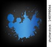 blue splash paint abstract... | Shutterstock .eps vector #148598066