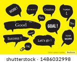 vector speech bubble colorful... | Shutterstock .eps vector #1486032998