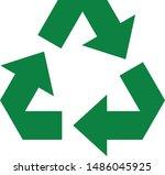 arrow recycle icon logo symbol