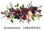 maroon blush wine colors... | Shutterstock . vector #1486090562