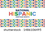 national hispanic heritage... | Shutterstock .eps vector #1486106495