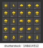 weather icons. additional part. ...