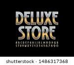 vector chic sign deluxe store.... | Shutterstock .eps vector #1486317368