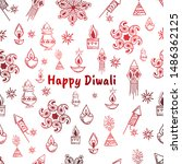 "stylish text of ""happy diwali"". ... 