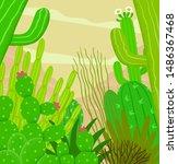 illustration of different... | Shutterstock .eps vector #1486367468