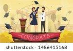 best graduates and excellent... | Shutterstock .eps vector #1486415168