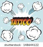 pop art background office stamp ... | Shutterstock . vector #148644122