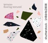 terrazzo flooring textured... | Shutterstock .eps vector #1486462808