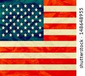 america flag on paper texture | Shutterstock .eps vector #148648955