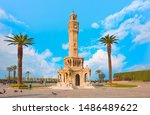 Izmir Clock Tower. The Famous...