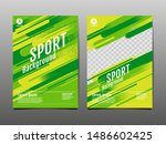 layout template design  sport... | Shutterstock .eps vector #1486602425