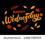 happy wednesday. day of the... | Shutterstock .eps vector #1486708505