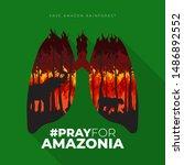 "Flat Poster ""pray For Amazonia"" ..."