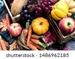 Autumn And Fall Season. Harvest ...