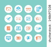 email icons | Shutterstock .eps vector #148697108