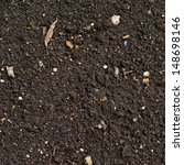 Small photo of Earth texture with a small stone admixture as a background