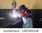 Motswana Welder Worker In A...