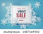 Winter Sale  Banner Design With ...