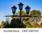 Lamp resembling christian...