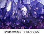 Amethyst Macroshot Blue...