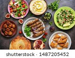 Assorted Variety Of Arabic And...