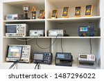 Electronic measuring devices of ...