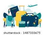 vector illustration  concept of ... | Shutterstock .eps vector #1487333675