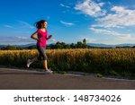 healthy lifestyle   girl... | Shutterstock . vector #148734026