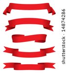 red banners | Shutterstock .eps vector #14874286