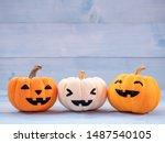 Orange And White Pumpkins...