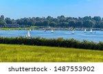 A Flotilla Of Sailing Boats On...