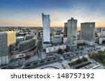 Sundown Over Warszawa City ...