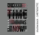 Slogan Urban Graphic Design Fo...