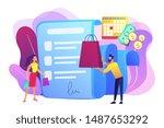 installment purchase offer ... | Shutterstock .eps vector #1487653292