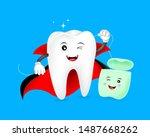 Halloween Cartoon Tooth...