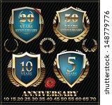 anniversary design element blue ... | Shutterstock .eps vector #148779776