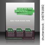 vector car tournament flyer ... | Shutterstock .eps vector #148781882