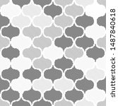 dotted seamless pattern.... | Shutterstock .eps vector #1487840618