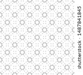abstract seamless minimal...   Shutterstock .eps vector #1487841845