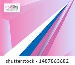 annual report  brochure  flyer... | Shutterstock .eps vector #1487863682