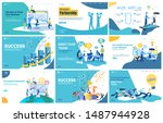 vector illustration flat... | Shutterstock .eps vector #1487944928