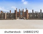 Entrance To The Hampton Court ...