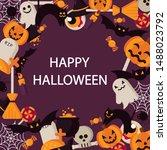 Happy Halloween Design In...