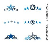 stars ancient emblems elements... | Shutterstock .eps vector #1488062912