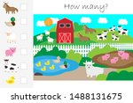How Many Counting Game  Farm...