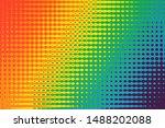 Bright Rainbow Background...