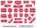 set of stickers  sale tags and... | Shutterstock .eps vector #1488203012
